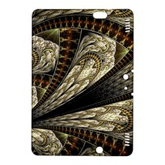 Fractal Abstract Pattern Spiritual Kindle Fire Hdx 8 9  Hardshell Case