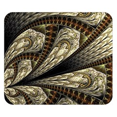 Fractal Abstract Pattern Spiritual Double Sided Flano Blanket (small)