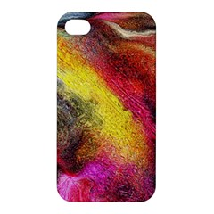 Background Art Abstract Watercolor Apple Iphone 4/4s Hardshell Case