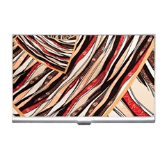 Fabric Texture Color Pattern Business Card Holders