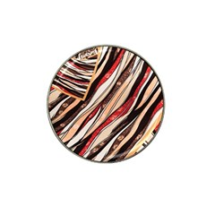 Fabric Texture Color Pattern Hat Clip Ball Marker
