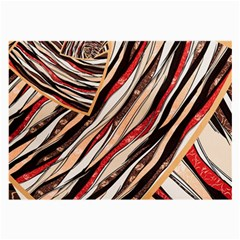 Fabric Texture Color Pattern Large Glasses Cloth (2 Side)