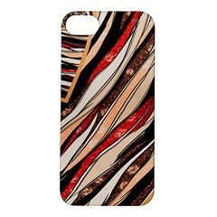 Fabric Texture Color Pattern Apple Iphone 5s/ Se Hardshell Case