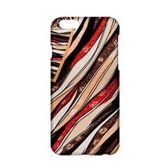 Fabric Texture Color Pattern Apple Iphone 6/6s Hardshell Case