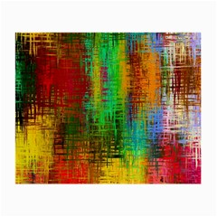 Color Abstract Background Textures Small Glasses Cloth (2 Side)