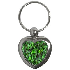 The Leaves Plants Hwalyeob Nature Key Chains (heart)