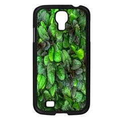 The Leaves Plants Hwalyeob Nature Samsung Galaxy S4 I9500/ I9505 Case (black)