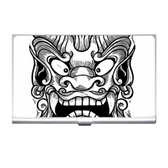 Japanese Onigawara Mask Devil Ghost Face Business Card Holders