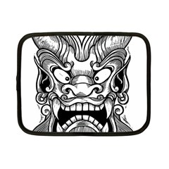 Japanese Onigawara Mask Devil Ghost Face Netbook Case (small)