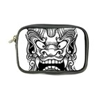 Japanese Onigawara Mask Devil Ghost Face Coin Purse Front
