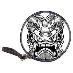 Japanese Onigawara Mask Devil Ghost Face Classic 20 Cd Wallets