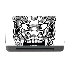 Japanese Onigawara Mask Devil Ghost Face Memory Card Reader With Cf