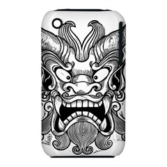 Japanese Onigawara Mask Devil Ghost Face Iphone 3s/3gs