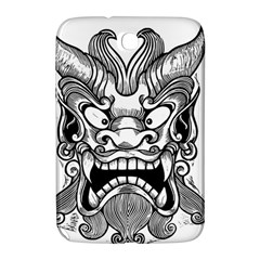 Japanese Onigawara Mask Devil Ghost Face Samsung Galaxy Note 8 0 N5100 Hardshell Case