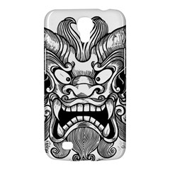 Japanese Onigawara Mask Devil Ghost Face Samsung Galaxy Mega 6 3  I9200 Hardshell Case