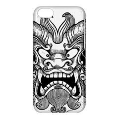 Japanese Onigawara Mask Devil Ghost Face Apple Iphone 5c Hardshell Case