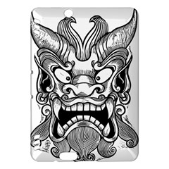 Japanese Onigawara Mask Devil Ghost Face Kindle Fire Hdx Hardshell Case