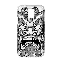 Japanese Onigawara Mask Devil Ghost Face Samsung Galaxy S5 Hardshell Case