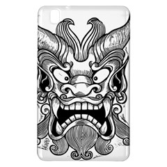 Japanese Onigawara Mask Devil Ghost Face Samsung Galaxy Tab Pro 8 4 Hardshell Case