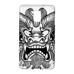 Japanese Onigawara Mask Devil Ghost Face Galaxy Note Edge