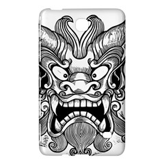 Japanese Onigawara Mask Devil Ghost Face Samsung Galaxy Tab 4 (7 ) Hardshell Case