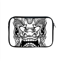 Japanese Onigawara Mask Devil Ghost Face Apple Macbook Pro 15  Zipper Case