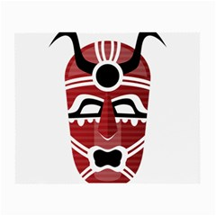 Africa Mask Face Hunter Jungle Devil Small Glasses Cloth (2 Side)