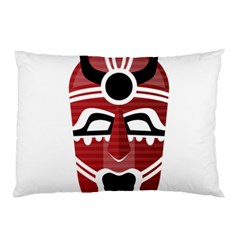 Africa Mask Face Hunter Jungle Devil Pillow Case