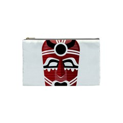 Africa Mask Face Hunter Jungle Devil Cosmetic Bag (small)