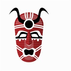 Africa Mask Face Hunter Jungle Devil Large Garden Flag (two Sides)