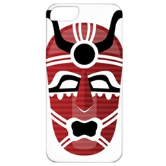 Africa Mask Face Hunter Jungle Devil Apple Iphone 5 Classic Hardshell Case