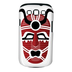 Africa Mask Face Hunter Jungle Devil Samsung Galaxy S Iii Classic Hardshell Case (pc+silicone)