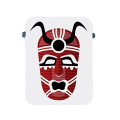 Africa Mask Face Hunter Jungle Devil Apple Ipad 2/3/4 Protective Soft Cases
