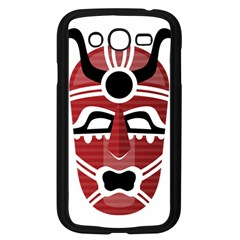 Africa Mask Face Hunter Jungle Devil Samsung Galaxy Grand Duos I9082 Case (black)