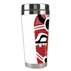 Africa Mask Face Hunter Jungle Devil Stainless Steel Travel Tumblers
