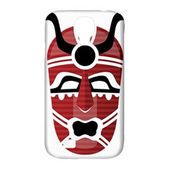 Africa Mask Face Hunter Jungle Devil Samsung Galaxy S4 Classic Hardshell Case (pc+silicone)