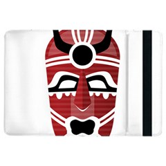 Africa Mask Face Hunter Jungle Devil Ipad Air 2 Flip
