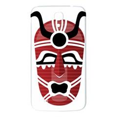 Africa Mask Face Hunter Jungle Devil Samsung Galaxy Mega I9200 Hardshell Back Case
