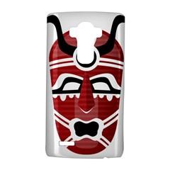 Africa Mask Face Hunter Jungle Devil Lg G4 Hardshell Case