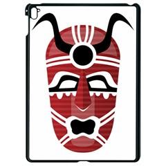 Africa Mask Face Hunter Jungle Devil Apple Ipad Pro 9 7   Black Seamless Case