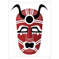 Africa Mask Face Hunter Jungle Devil Back Support Cushion