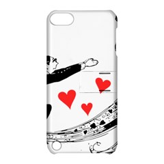 Manloveswoman Apple Ipod Touch 5 Hardshell Case With Stand