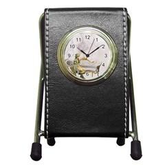 Background 1659612 1920 Pen Holder Desk Clocks