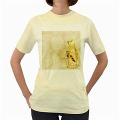 Background 1659622 1920 Women s Yellow T Shirt