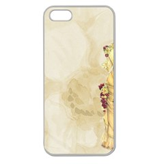Background 1659622 1920 Apple Seamless Iphone 5 Case (clear)