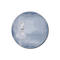 Background 1659631 1920 Rubber Round Coaster (4 Pack)