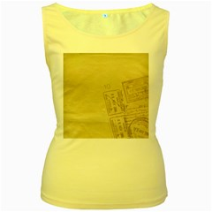 Background 1659638 1920 Women s Yellow Tank Top