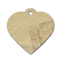 Background 1659638 1920 Dog Tag Heart (one Side)