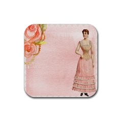Background 1659765 1920 Rubber Square Coaster (4 Pack)