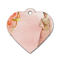 Background 1659765 1920 Dog Tag Heart (two Sides)